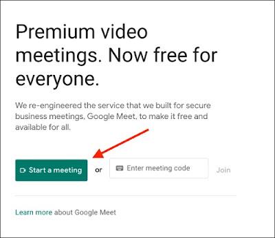اجتماع مباشر على الانترنت