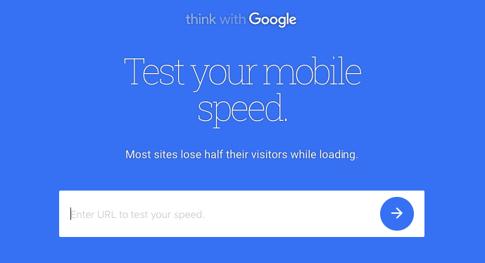 mobile speed test
