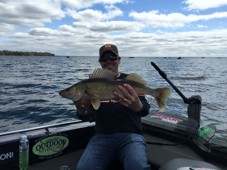 Mille Lacs Lake fishing guide Tim Hanske walleye.JPG