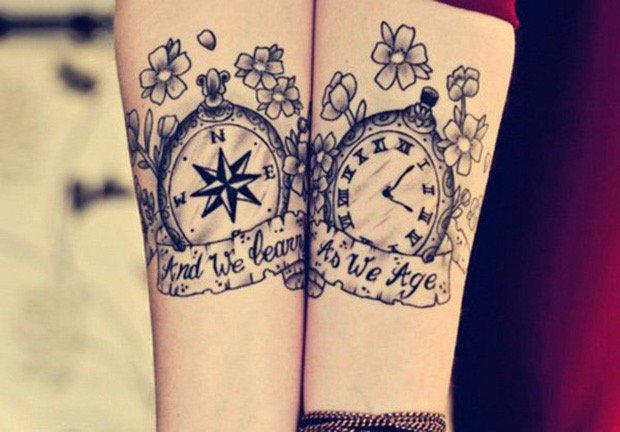 tatuajes-pareja-brújula-reloj.jpg