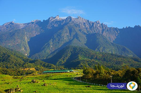 کوه کینابالو در مالزی