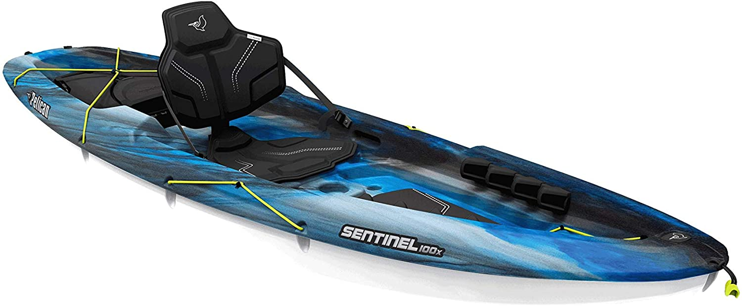 Pelican Sit-on-Top Kayak - Sentinel 100X - 9.5 Feet for camping
