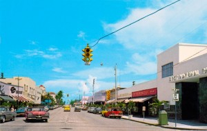 Delray Beach Downtown from years ago