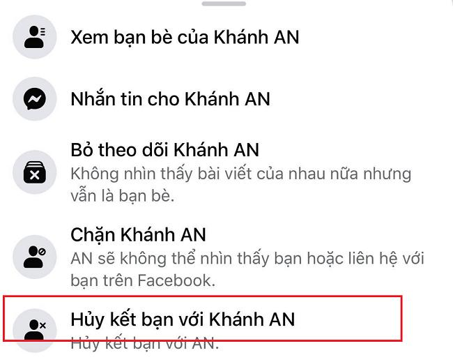 Bị chặn gửi lời mời kết bạn trên Facebook
