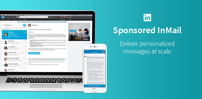 LinkedIn InMail recently became known as Message Ads