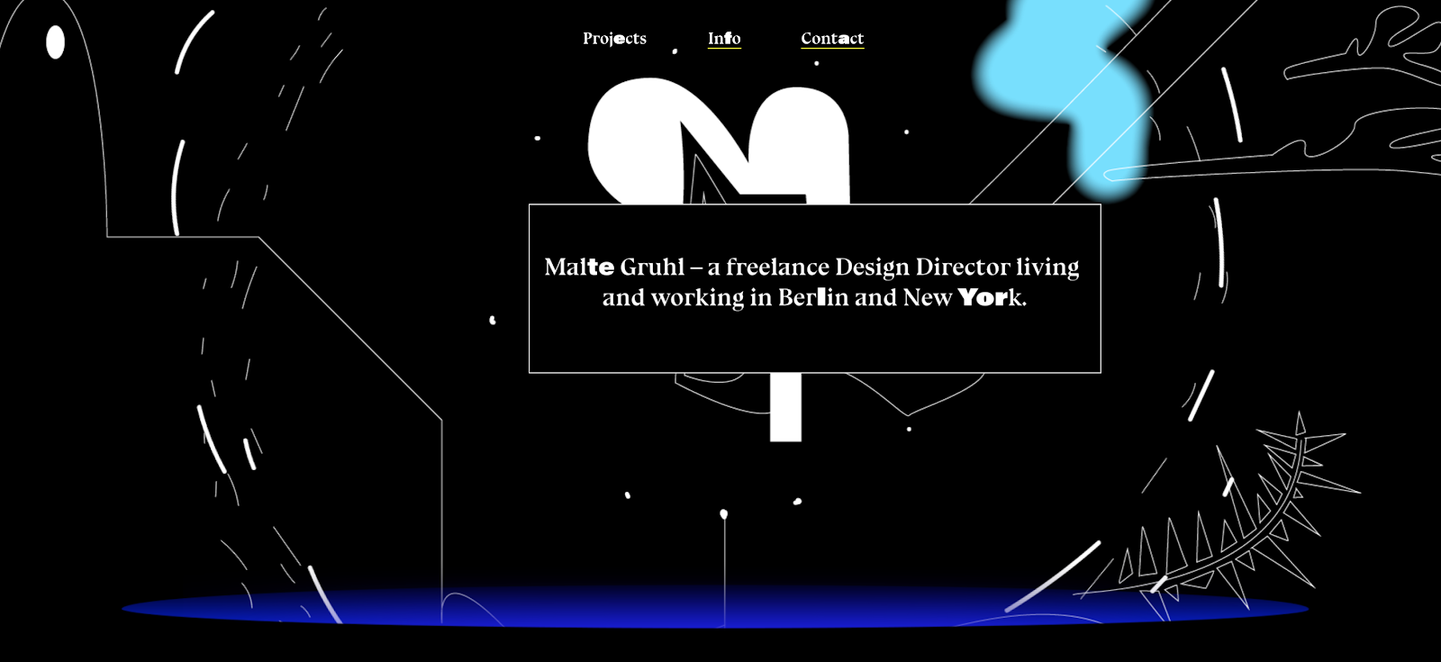 Web Developer Portfolio of Malte Gruhl