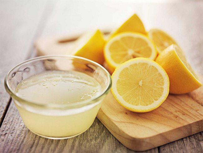 Nước chanh dưỡng trắng da mặt nhanh nhất trong 1 tuần