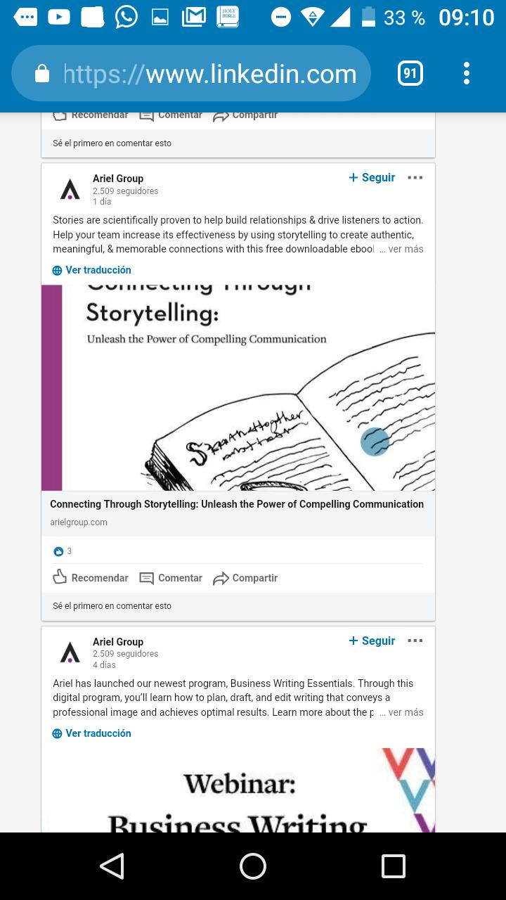 Ebooks a través de LinkedIn, aprovecha al máximo está herramienta 2