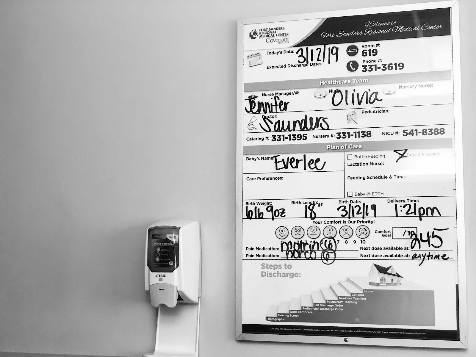 Everlee's Labor | Birth Story & Updates!