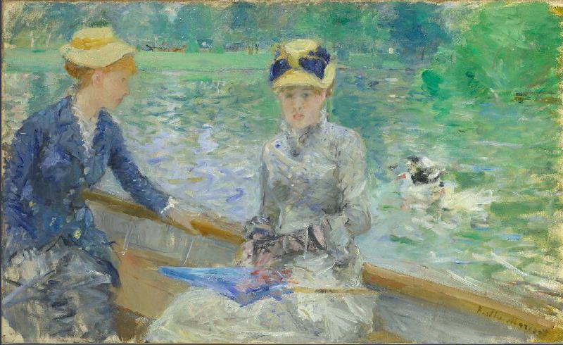 Berthe Morisot (1841-1895)  Summer's Day