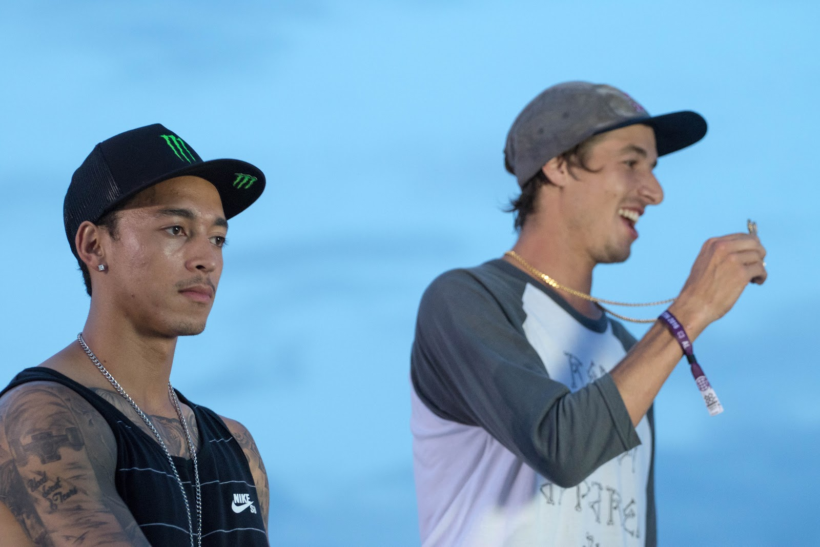 Did I Leave the Stove On? (Nyjah recieves his Silver Medal)