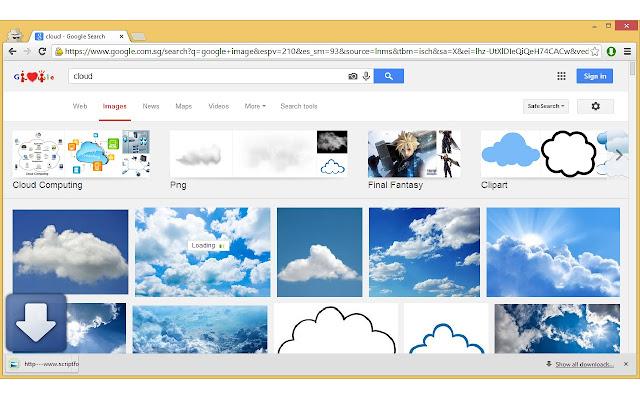 1 Click Image Downloader chrome extension