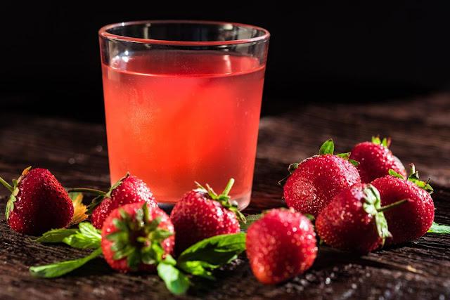 strawberry compote