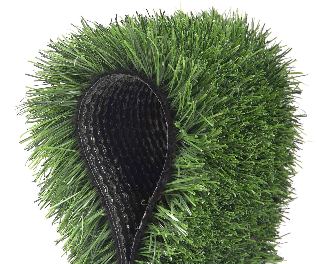 Artificial grass fibres and backing material