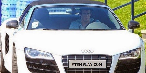 see the cars collection of Gareth bale