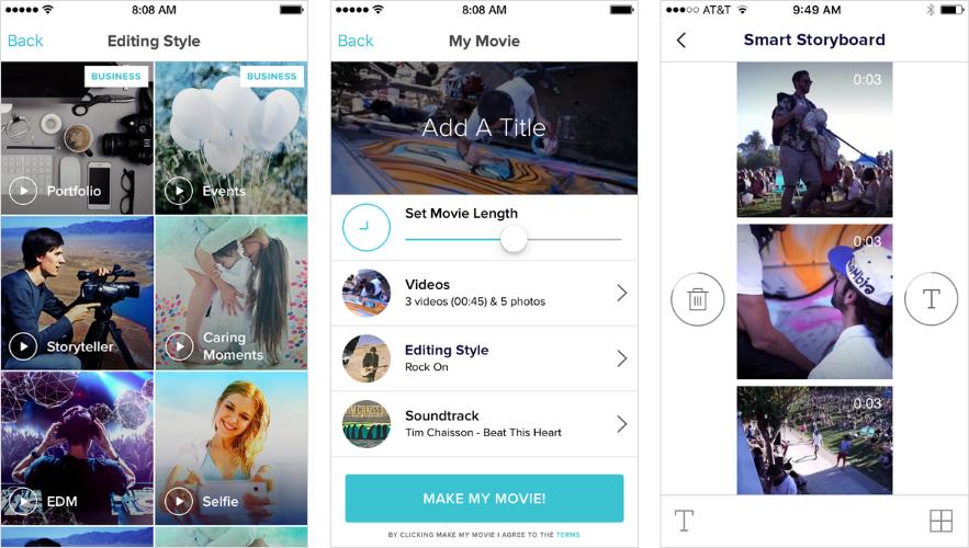 Apps de edição de vídeo: Magistro