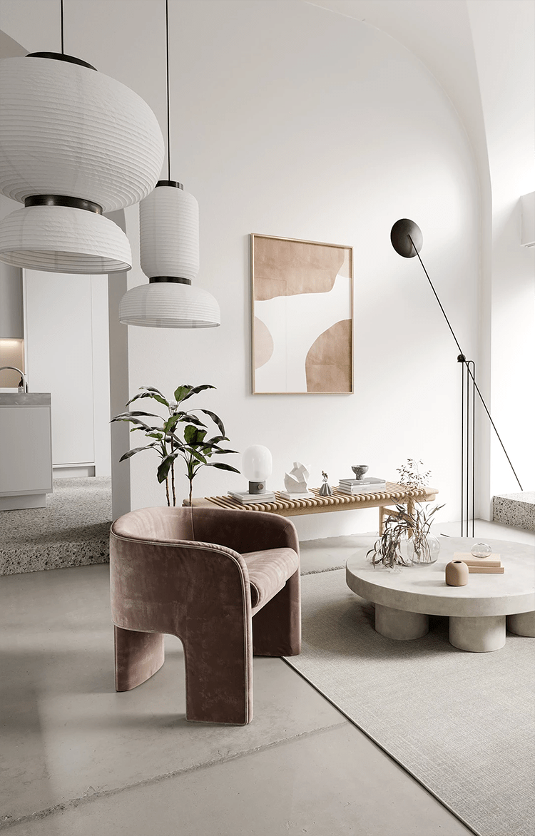 Interior trends 2021: Living with Nature and natural materials