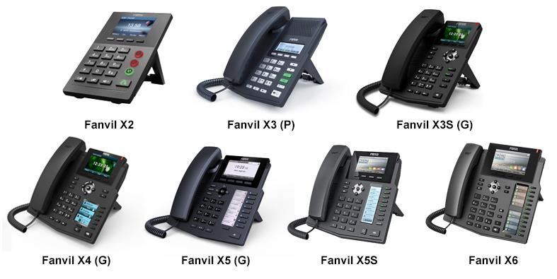 Настройка IP телефонов Fanvil X series для работы с 3CX