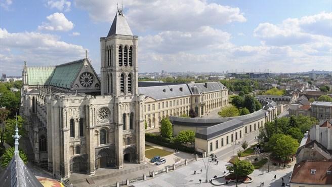 Resultado de imagem para catedral de saint denis
