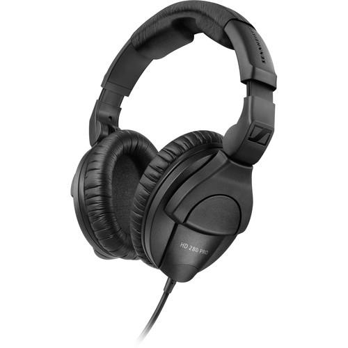 Headphones: Sennheiser HD 280 Pro Circumaural Closed-Back Monitor Headphones