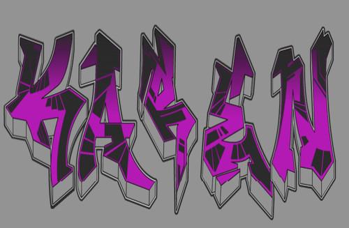 Te amo karen en graffiti - Imagui