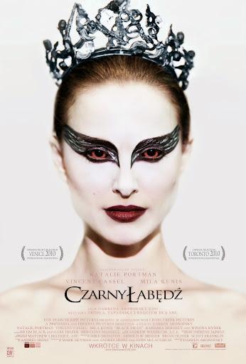 Polski plakat filmu 'Czarny Łabędź'