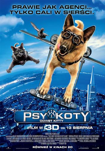 Polski plakat filmu 'Psy i Koty: Odwet Kitty'