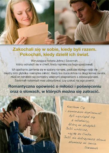 Tył ulotki filmu 'Wciąż Ją Kocham'