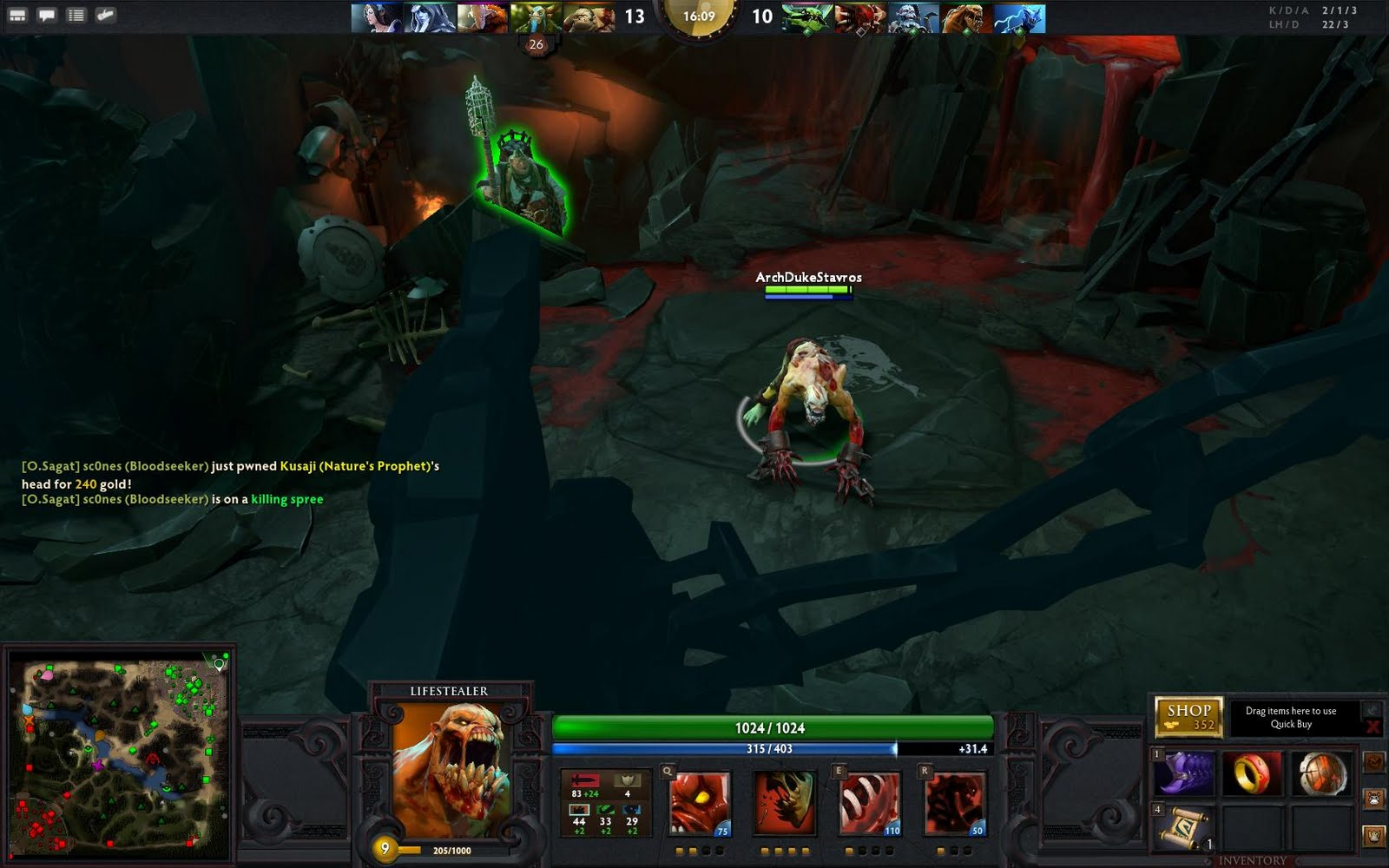 dota 2 hero lifestealer ipgr