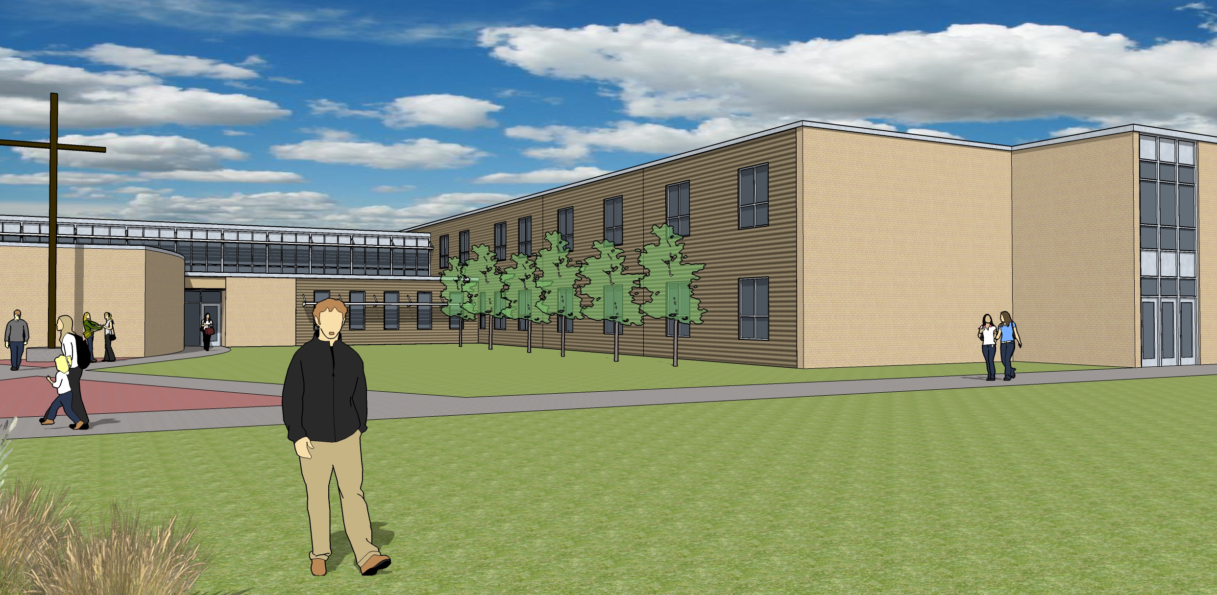 Wahlert Catholic completed a $17M renovation this year, just in time for the Class of 2022!