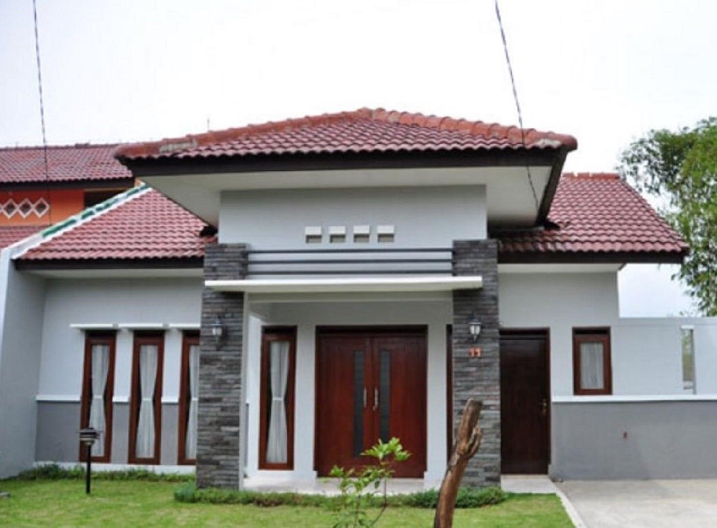 6 Bentuk Rumah Sederhana Di Kampung Yang Cantik Dan Asri Rumah di desa sederhana