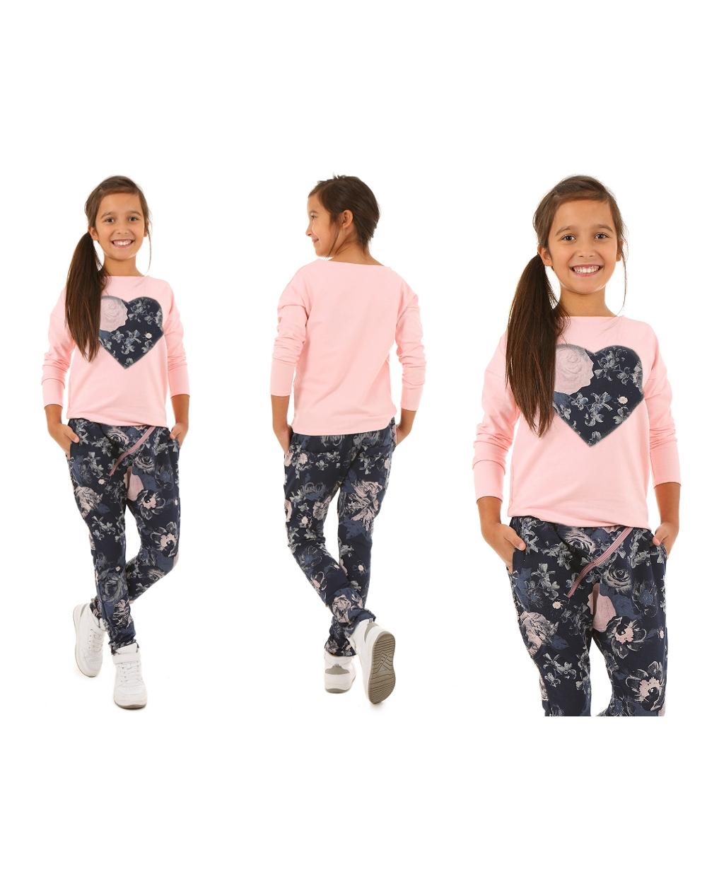 Bluzy sportowe dla dziewczynek