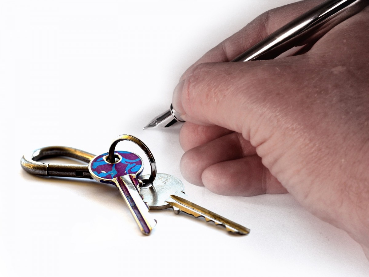 keys to a house in this business of being a landlord