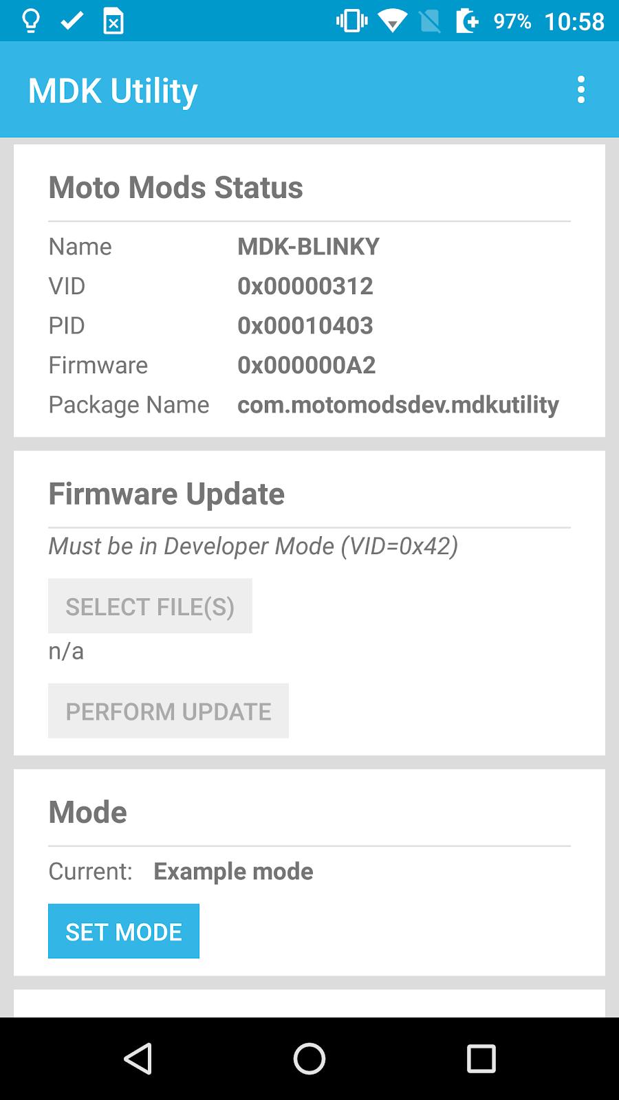 Moto Mods Developer Part 5 - Flashing Firmware     | element14