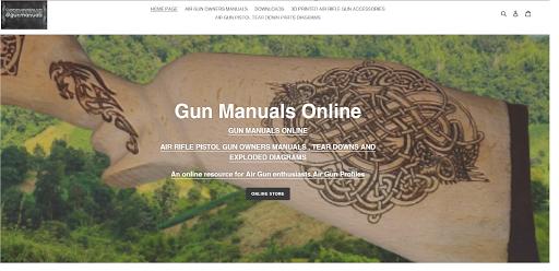 Gun Manuals Online Gun Manuals Online Air Rifle Pistol Gun Owners Manuals Tear Downs And Exploded Diagrams An Online Resource For Air Gun Enthusiasts