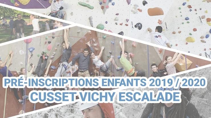 Plus d'informations sur www.cusset-vichy-escalade.org