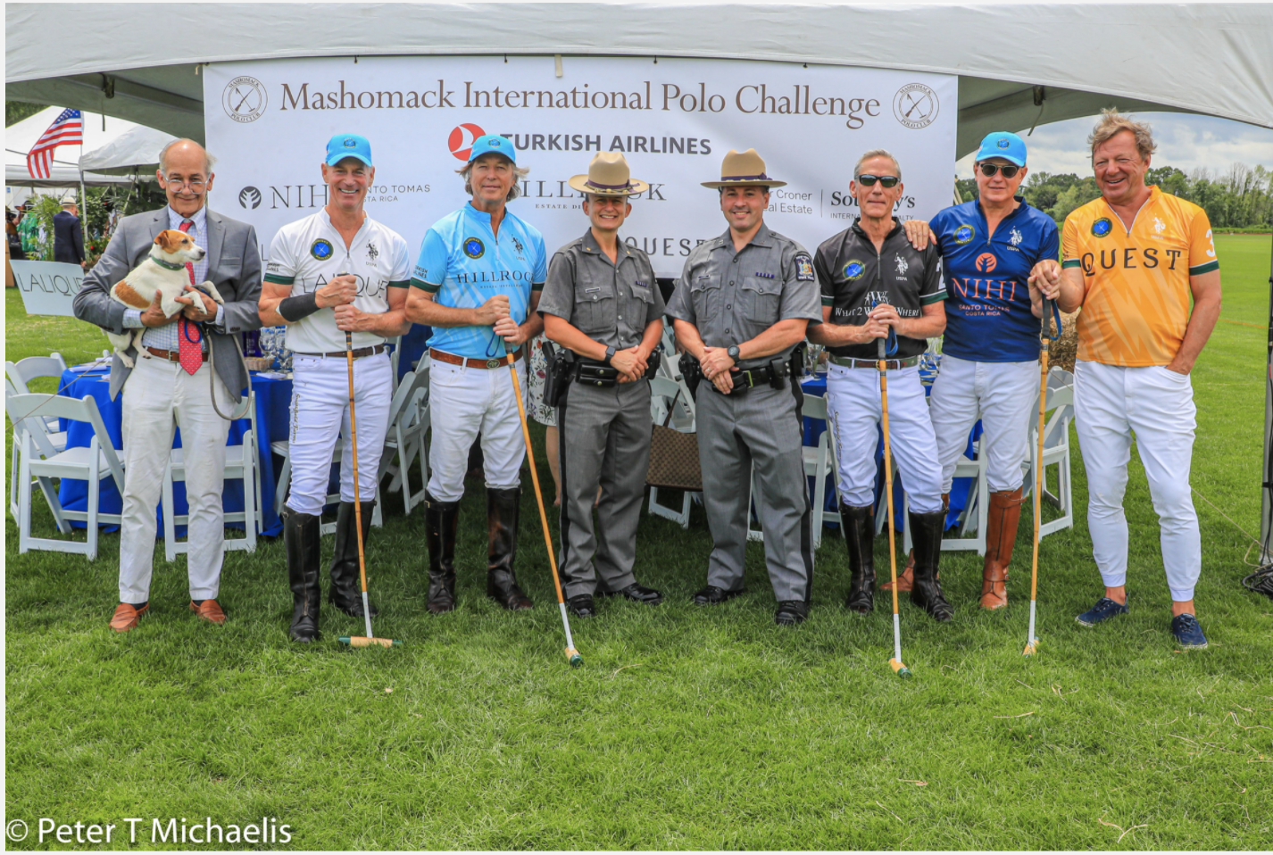 What to wear to 22 Mashomack International Polo Challenge ?  Karen Klopp and Hilary Dick chose the best fashion to celebrate the Polo Weekend in style.