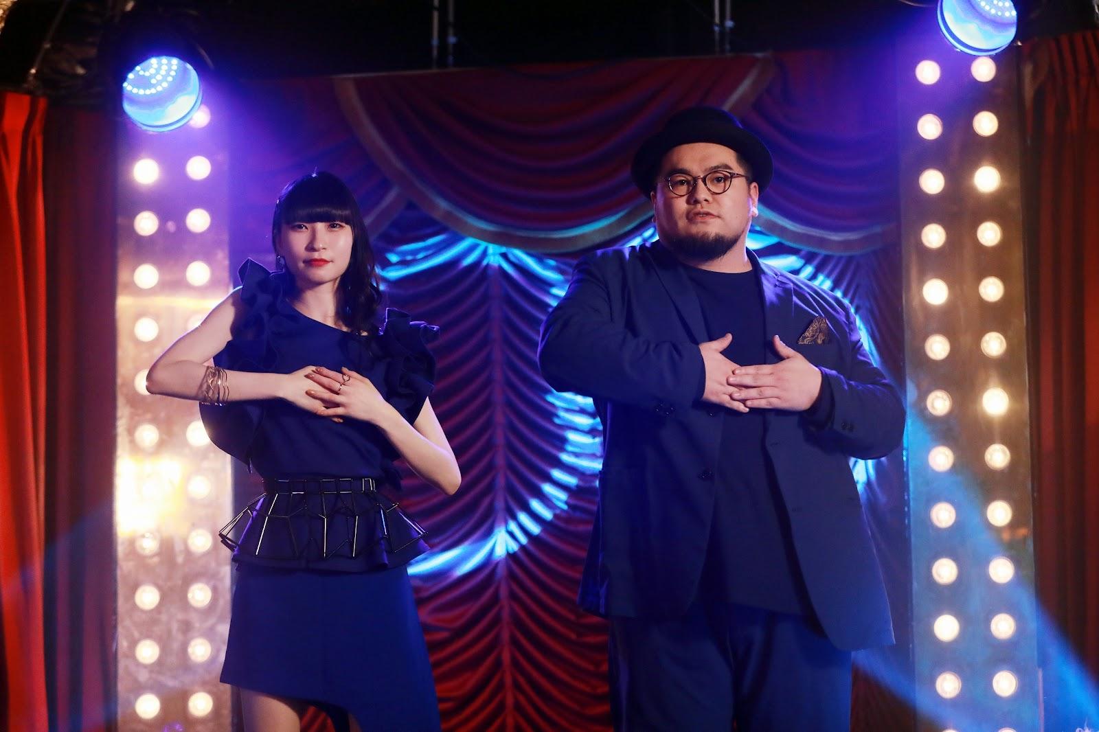 『苦い苦い苦い』MVご出演のピンキー!(藤咲彩音)さん・ワタナベシュウヘイさん