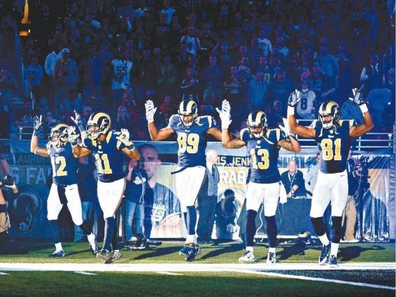 Polémica por el apoyo de deportistas negros a las protestas de Ferguson