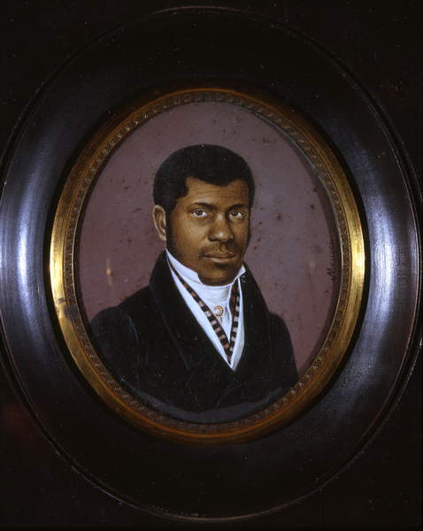Venerable Pierre Toussaint (1766-1853); 1825 (w/c on ivory), Collection of the New-York Historical Society, USA, © New York Historical Society / Bridgeman Images