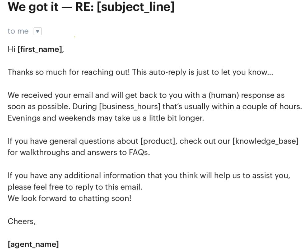 Marketing via email