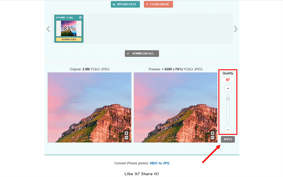 C:\Users\User\Desktop\how to compress a photo\compressjpeg\Screenshot_4.png