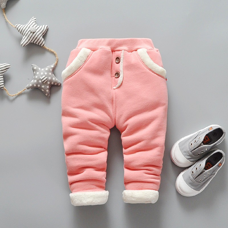 Spodnie ocieplane zimowe dla dziewczynek