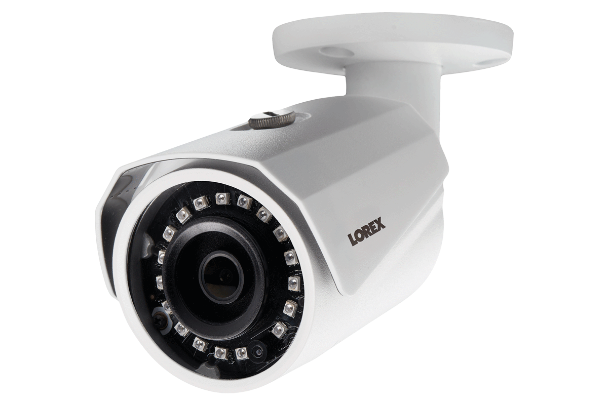 New Lorex 8 Channel 8 Metal Outdoor Camera 4mp 2k Hd