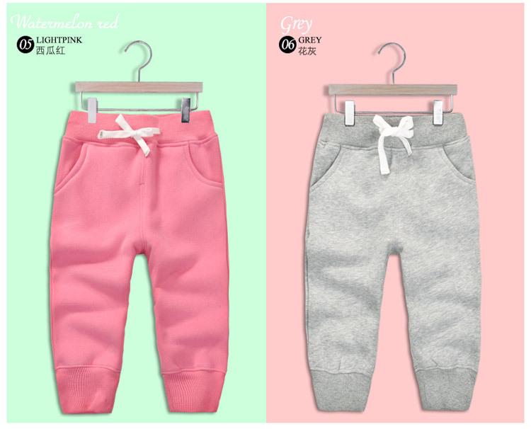 Spodnie dresowe dla dziewczynek