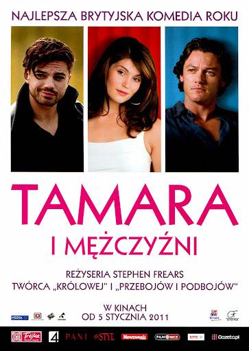 Przód ulotki filmu 'Tamara i Mężczyźni'