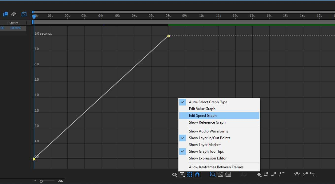 Speed ramping inside After Effects