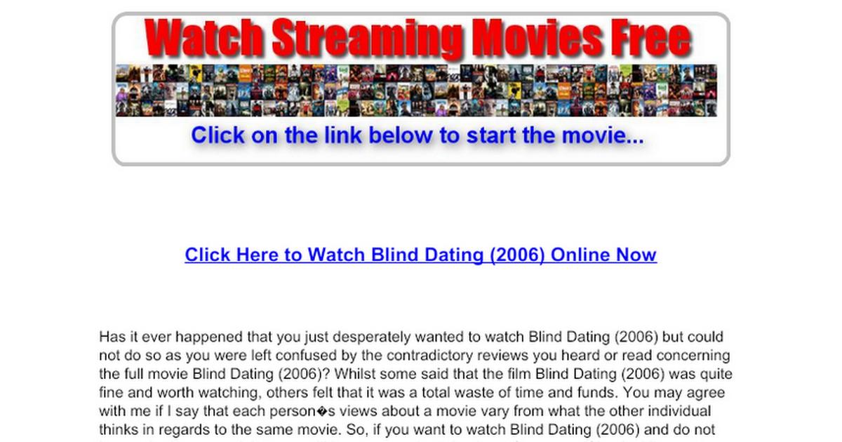 Online Dating insikter