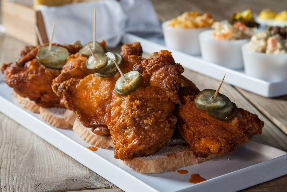 Image result for the flower shop nyc fried chicken