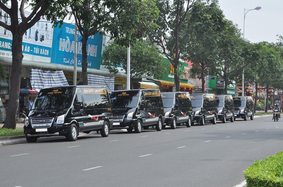 Xe limousine đi Vũng Tàu: Anh Quốc